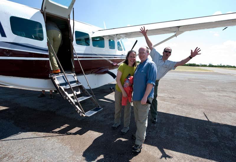 Boarding Bush Plane