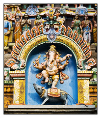 Nataraja Temple Sculptures 7 (Ceeyefaitch) Tags: india tamilnadu southindia chidambaram natarajatemple