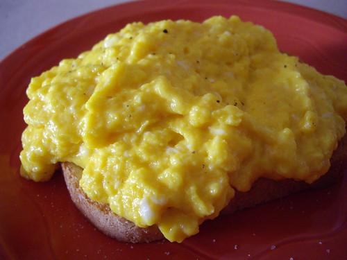 Sublime Scrambled Eggs on Toast