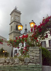 J13062008739-001 (alfiererosso) Tags: roses rose belltower campanile bow lamps rosen arco lampione roseto bowe scorciopittoresco kirschenturm picturesquecorner