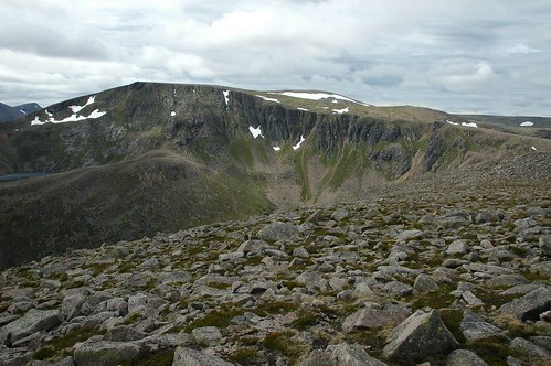 Ben Macdui from Derry Cairngorm