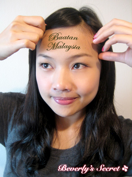 tattoo(forehead)