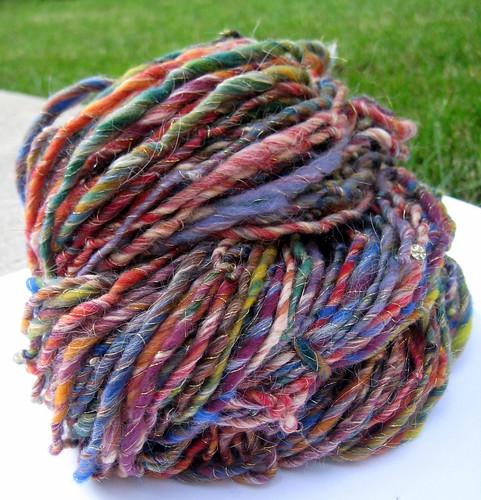 viva las vegas handspun yarn