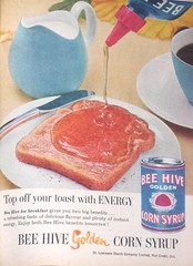 Mmmm, Top your toast with Corn syrup (SA_Steve) Tags: vintage ads advertisements foundontheweb vintageads