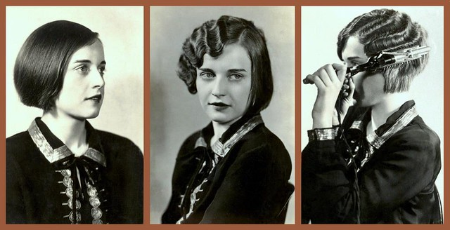 THE ROARING 20s -- HOW THE FLAPPER GIRLS DID IT -- 1, 2, 3.