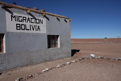 Bolivian Border...