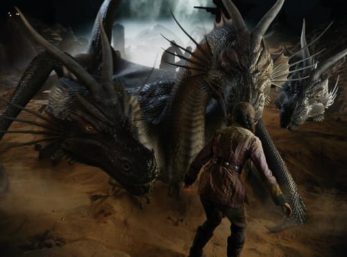La Momia 3 Dragón de 3 cabezas