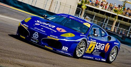 Ferrari Azul by César del saz