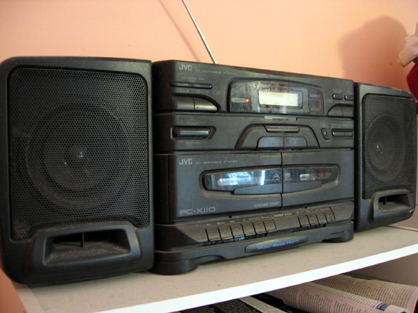CD player (Click to enlarge)