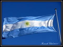 Bandera Argentina / Bariloche (Facu551) Tags: blanco argentina argentine flag bandera bariloche celeste centrocivico patagoniaargentina mastil cruzadas surargentino ltytr1
