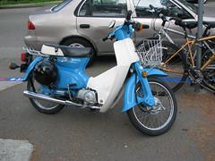 Honda Passport (electrofreeze) Tags: california honda bay san francisco scooter area scooters passport