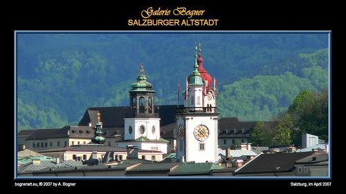 Viajando a Salzburgo en Austria
