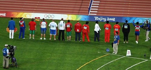 Womens Shot Put - Contestans (by niklausberger)