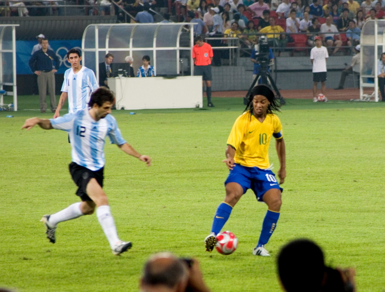 messi ronaldinho olympic