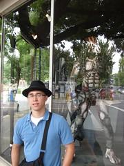 Me and Predator (blackjack000) Tags: oregon predator milwaukie darkhorse