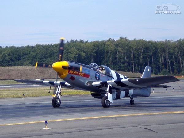 North American p51 Mustang
