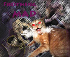 frothing mad