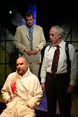 Interrogation (Ben Jaeger-Thomas) Tags: play alltherage manhattantheatresource keithreddin darylboling