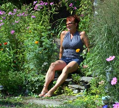 I love my garden (lynne_b) Tags: flowers home me birds yard garden illinois bees butterflies linda passion mygarden sentimental explored twtme