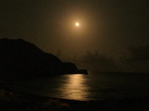 Noche sobre La Isleta