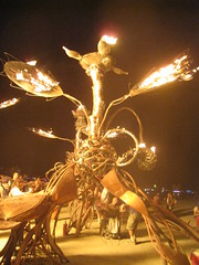 Fire sculptures