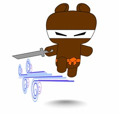 ninja-bear-don't-fly-with-blades