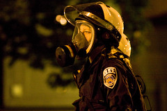 UMPD (Tony Webster) Tags: riot stpaul twincities saintpaul protesters gop rnc riotgear anarchists republicannationalconvention teargas gasmasks riotcops rioting 20080902 ccbync20150103 cgg1508