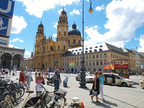 Calles de Munich Foto