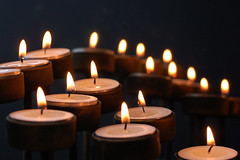Candle Power (Ann Rob) Tags: light reflection dark mirror candle flame tealights cwd cwdrs cwd862 cwdrs86