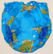 Large Fattycakes Fitted  **Sea Turtles**  Summer Sale!