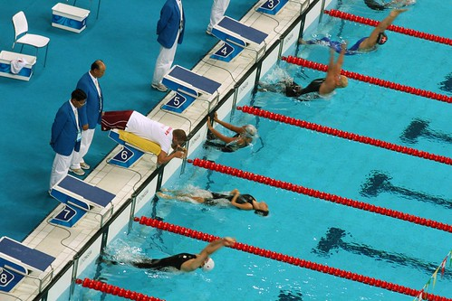 Women's 50m Backstroke - S5 Final (by niklausberger)
