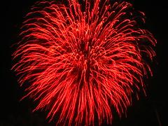 Bright Red Glow (EpicFireworks) Tags: shells fireworks powder bonfire pyro epic pyrotechnics epicfireworks