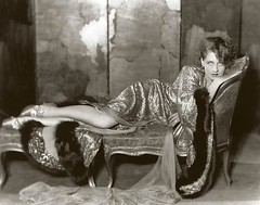 Norma Shearer in a sultry pose
