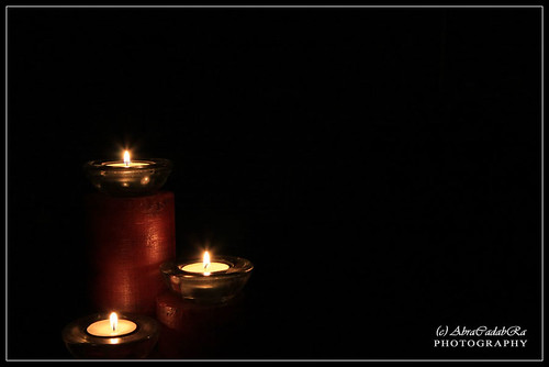 Candles - Negative Space