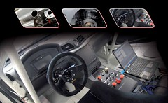 Maserati GranTurismo MC Corse Concept interior shot
