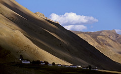 Kye Village, Spiti (sapru) Tags: blue houses light shadow sky cloud house mountain mountains architecture clouds rural design countryside still cool fantastic key quiet peace village open arty artistic space rustic creative relaxing restful calming surreal floating peaceful tranquility calm architectural huts silence shade harmony simplicity serenity serene himalaya dreamlike hush stillness tranquil himachal himalayas balanced poised ki spiti gentle soothing imaginative calmness quietness comforting himachalpradesh composed aesthetic otherworldly illusory inventive ruralindia unruffled untroubled unperturbed anawesomeshot unworried trancelike