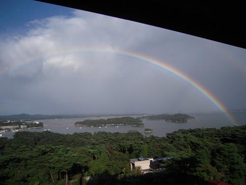 Rainbow in Matsushima, Miyagi