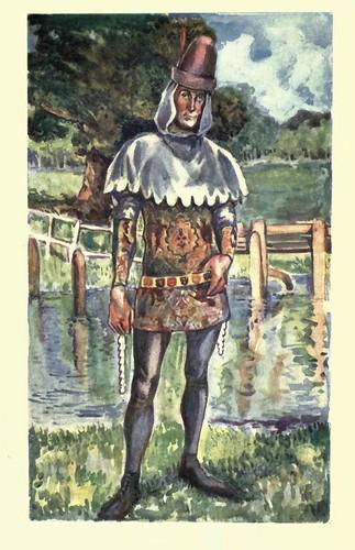 03- Vestimenda hombre en la epoca de Edward III (1327-1377)