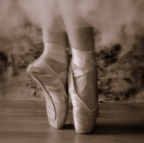 beloved pointe shoes in sepia a photo on flickriver