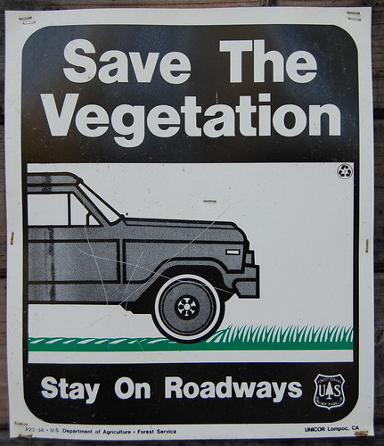 Save the vegetation