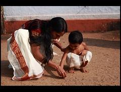 Vidyarambham (AgniMax) Tags: india canon kerala explore agni nandana harisree canoneos400d vidarambham