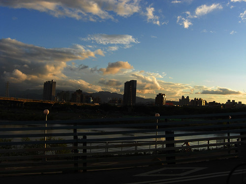 河濱運動公園黃昏