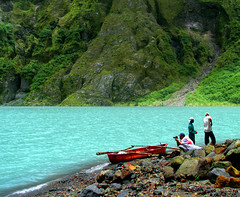 The Colors of Mount Pinatubo (Storm Crypt) Tags: mountain lake tourism water colors volcano lava islands boat rocks asia southeastasia waves waterfront flood philippines visit tourist erosion shore granite limestone craterlake sulfur aerosol rim volcanic vei fareast current climate eruption pinoy mtpinatubo pinatubo lahar magma pilipinas turbulence luzon craterrim freshwater pampanga bundok mountainrange tarlac zambales ringoffire stratovolcano activevolcano westernpacific volcanicrocks sulfuric so2 wowphilippines mountpinatubo sulfuriclake bulkan santajuliana philippineislands centralluzon mtpinatubocaldera erosyon pysoclastic mtpinatubocraterlake volcanologists