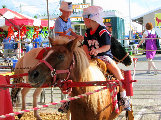 100 Things to see at the fair #40: Pony ride