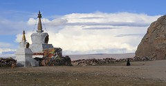 Nam (Namtso Chumo) tso (Chrten) (reurinkjan) Tags: nature stupa tibet chorten tso namtso 2008 sept nam chumo changtang chrten namtsochukmo nyenchentanglha tibetanlandscape tengrinor janreurink damshungcounty damgzung