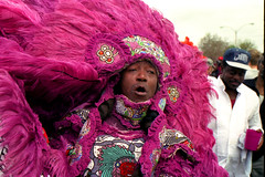 Mardi Gras Indian on Super Sunday (Ed Newman) Tags: louisiana neworleans supersunday mardigrasindians