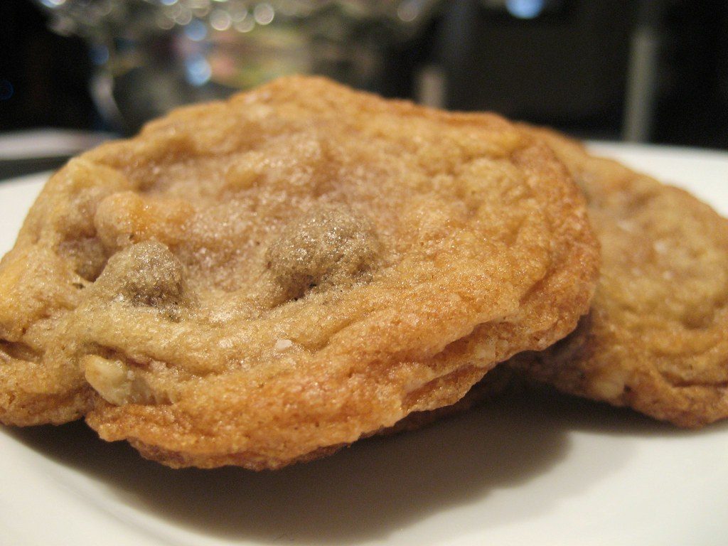 chocolate and butterscotch chip cookies