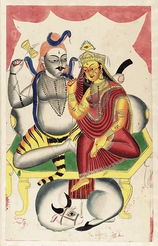 012- Shiva Mahadeva y su consorte Parvati