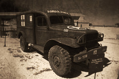 1942 Dodge Ambulance (Eric Vondy) Tags: ambulance dodge pimaairspacemuseum