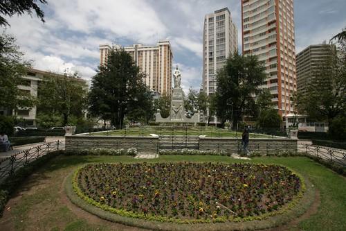 Plaza de los Estudiantes, La Paz.
